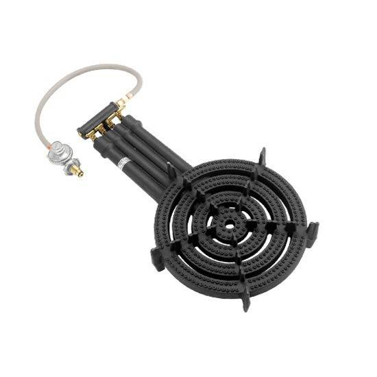 hot sale BBQ 4rings cast iron gas burner