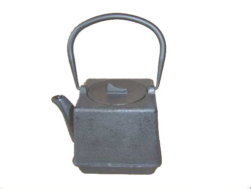hot sale high quality square cast iron teapot