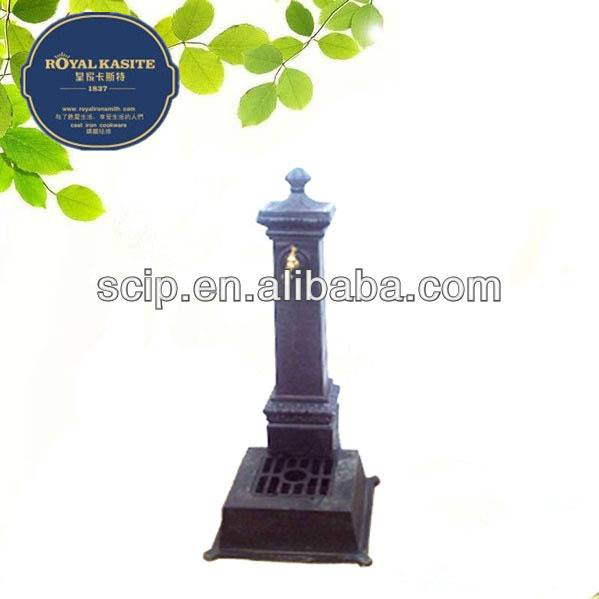 cast iron water fountains