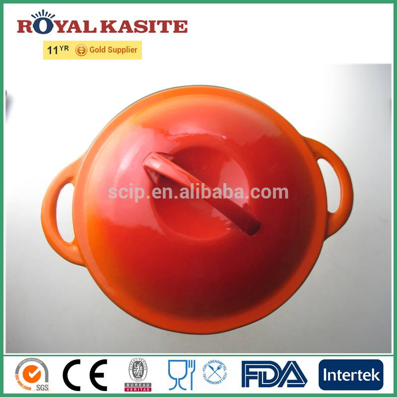 high quality cast iron cookware casserole | reoona casserole | enamel coated cooking boiler