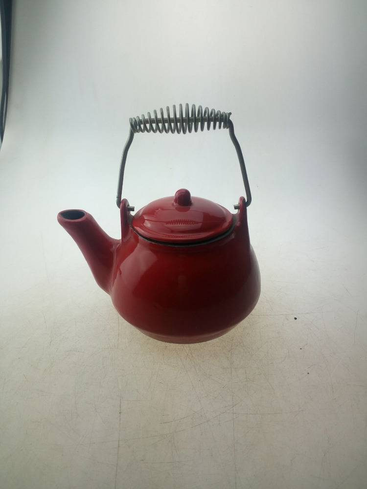 red enamel cast iron kettle Featured Image