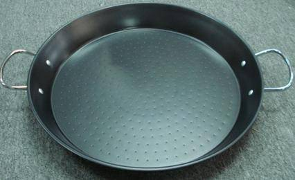 wholesale non-stick carbon steel paella pan