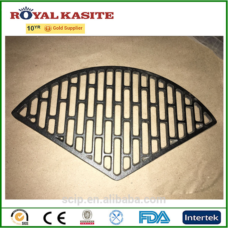 cast iron BBQ grill, round cast iron grill grate, cast iron BBQ Accessories