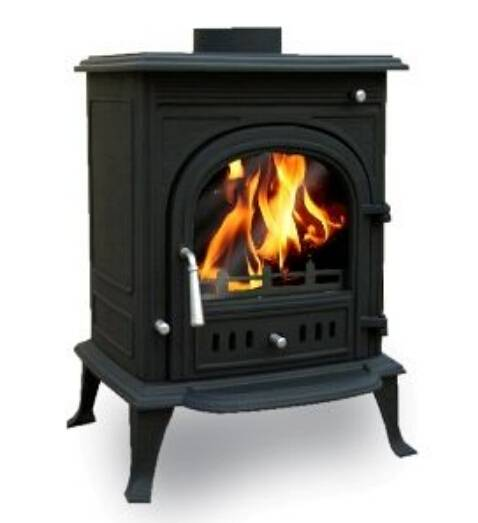 freestanding cast iron fireplace, cast iron fireplace