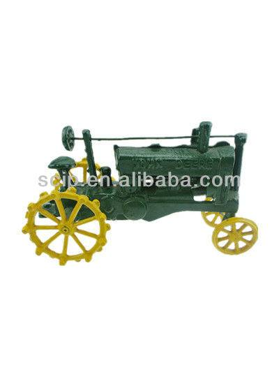 old fashion cast iron tractor craft for home decoration