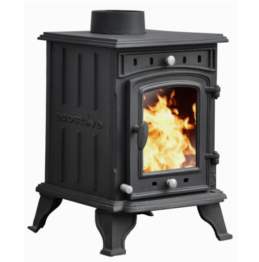 cast iron freestanding wood burning fireplace