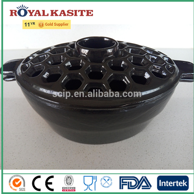 Oval unique cast iron humidifier with factory design