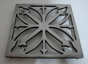 certification eco-friendly cast iron trivets for hot sales