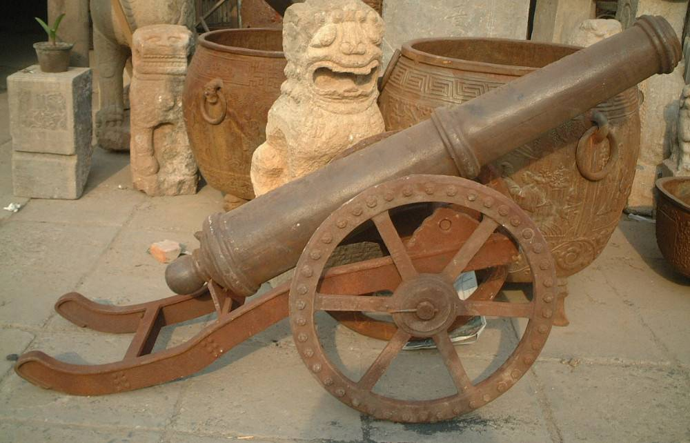hot sale high quality cast iron cannon