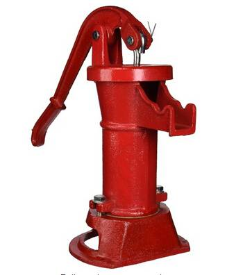 cast iron pitcher pump
