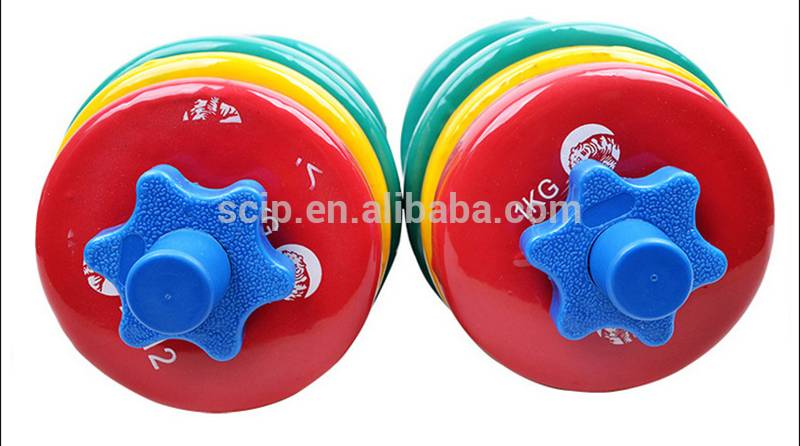 Women Household Fitness Equipment Colorful Plastic Dipping