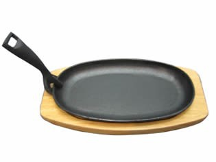 hot sale cast iron sizzler plate
