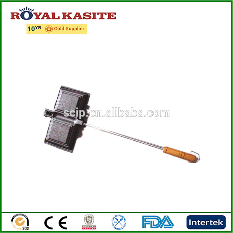 high quality cast iron bread tongs