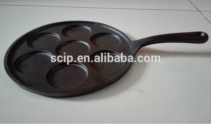 factory supply cast iron bake pan