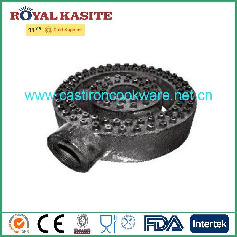 Cast iron Natural gas hob parts one ring gas burner