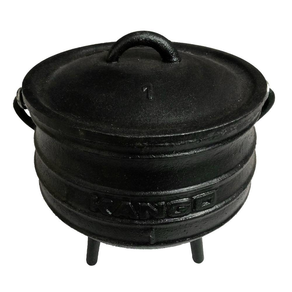 3 legged cast iron leaky cauldron pot for hot sale