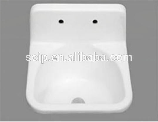 square cast iron countertop sinks for sale