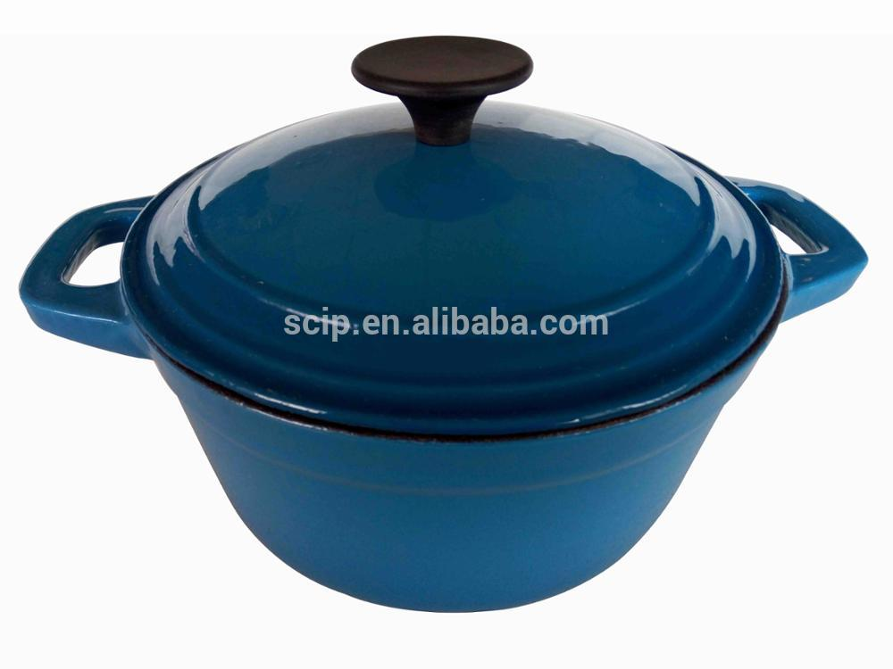 Industrial Cooking Pot Cookware Cast Iron Enamel Casserole