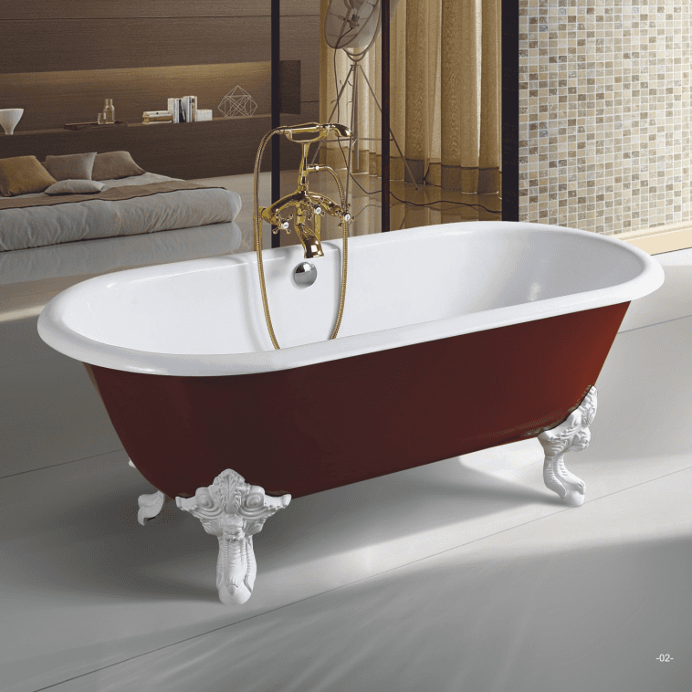 hot selling acrylic freestanding bathroom tub,single slipper freestanding tub