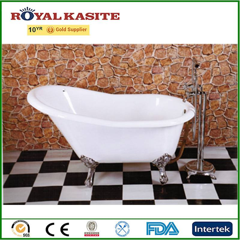 cast iron bathtub,soaking acrylic freestanding bathroom tub