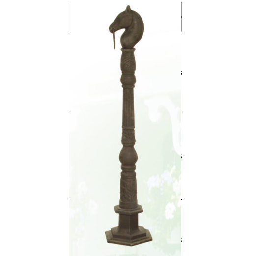 cast iron horse head stake HS-S-1