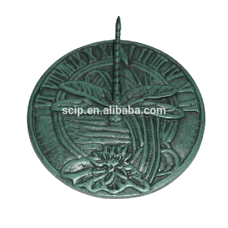 factory supply cast iron sundial YH05515
