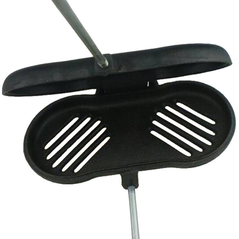Camping cast iron sandwich cooker pie iron