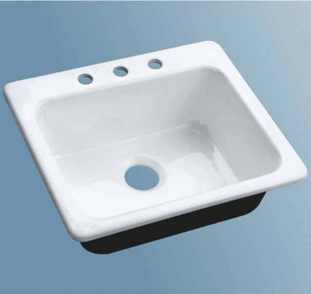 enameled cast iron countertop sinks sw-4001
