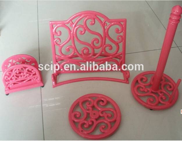high quality cast iron 4 sets menu shelf the kitchen for sale Featured Image