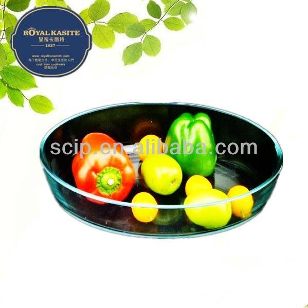 baking dish glass oval shape