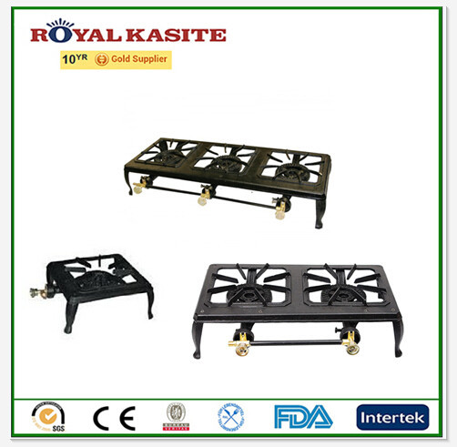 cheap cast iron gas burner/ SGS certification color panted frame burner GB 01 GB 02 GB03