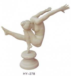 Athlete Cast Iron Statue