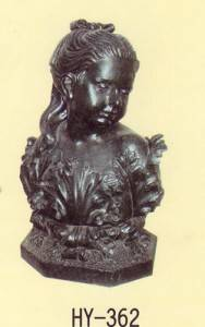 Meditator Cast Iron Sculpture