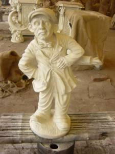 Funny Cast Iron Sculpture