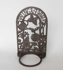 cast iron flower pot holder  decoration