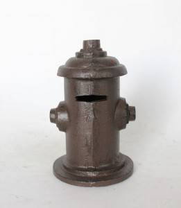 cast iron money  bank  home decoration