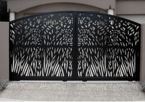 Beautiful Wrought Iron Gate Design