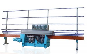 Low price for Hot Roller Glass Machine - G-VFE-5M Vertical Straight Line Glass Flat Edging Machine – CBS