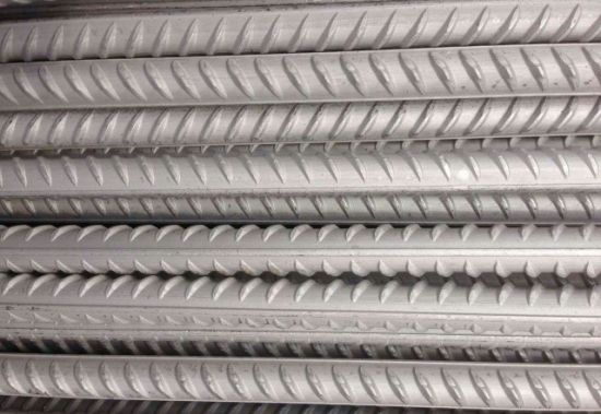 HRB500 HRB400 Steel Rebar, Deformed Steel Bar, Iron Rods for Construction
