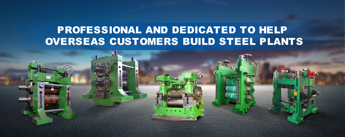 Professional and Dedicated to Help Overseas Customers Build Steel Plants