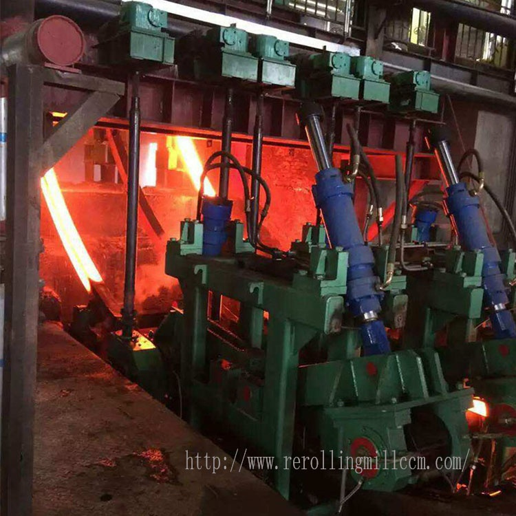 Fixed Single And Double Arms Carbon Steel Casting High Efficiency Continuous Caster