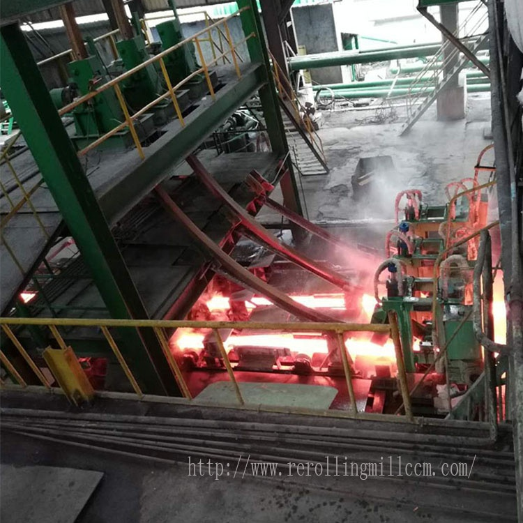 Continuous Casting Machine ( CCM ) for steel billet -100 X 100 mm