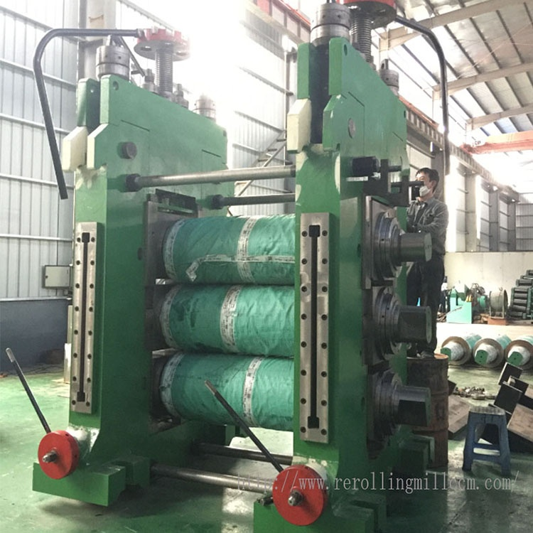 Good Quality Rolling Mill - Industrial Steel Rebar Rolling Mill High Efficiency Roll Forming Machine -Geili