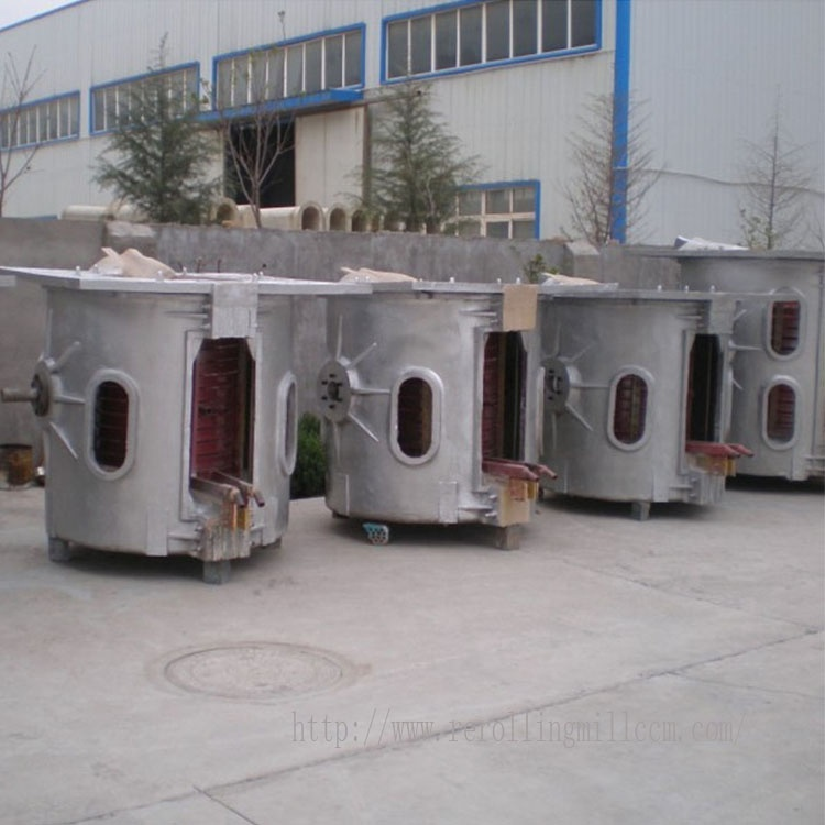 Steel Scrap Induction Melting / Casting / Medium Frequency Induction Furnace