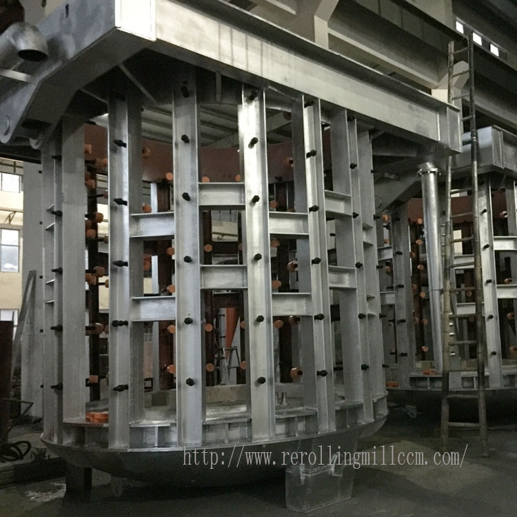 High Efficiency Induction Heating Equipment Steel Electric Reheating furnace