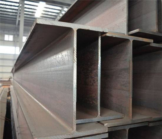 Hot Rolled Q235 Grade 100mm-300mm Carbon Steel H Beams