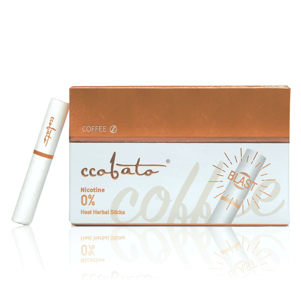 CCOBATO-HEALTH CIGARETTE-CIGARETTE ALTERNITIVE-COFFEE-WITH CAPULE