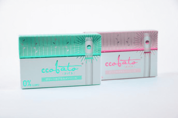 CCOBATO Heat-Not-Burn Tobacco free sticks welcome in Japan
