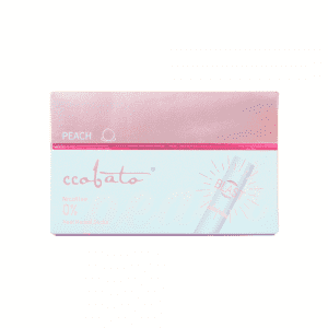 CCOBATO-HEAT HERBAL STICKS-TOBACCO FREE-PEACH-WITH CAPSULE