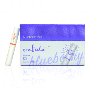 HEAT-NOT-BURN HERBAL STICKS- BLUEBERRY FLAVOR-WITH CAPSULE -Tobacco Free – Nicotine Free